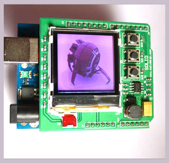 Nokia Color Lcd Shield For Arduino Hobbyist Co Nz