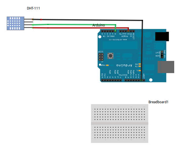 wiring up dht11 temp humidity sensor to the arduino hobbyist co nz rh hobbyist co nz