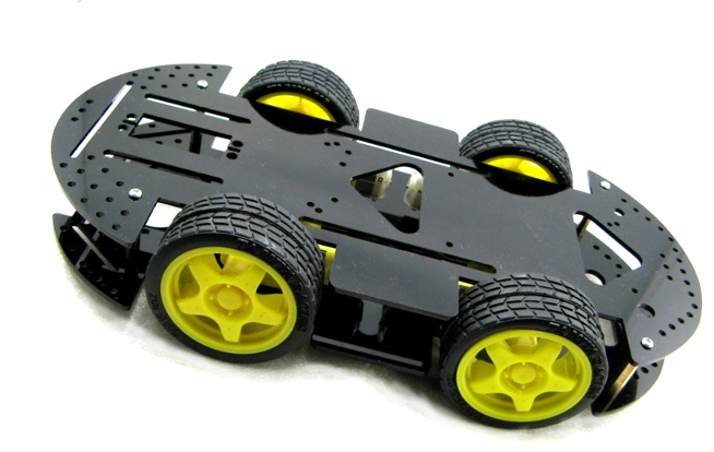 Batdrive wheel drive robotic platform hobbyist nz
