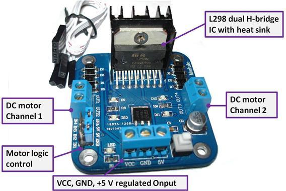 L298 Motor Controller Hobbyist Co Nz