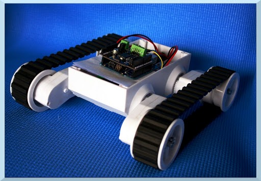 Bluetooth Mars Rover Robotic Kit