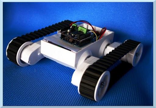 Hobbyist Mars Rover, Arduino robotic kit