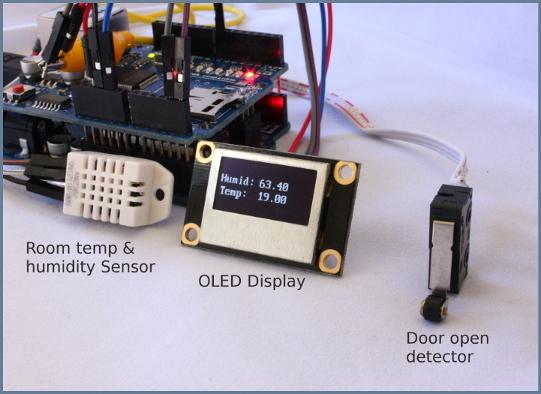 Netsensor Arduino Room Monitor Amp Home Alarm System