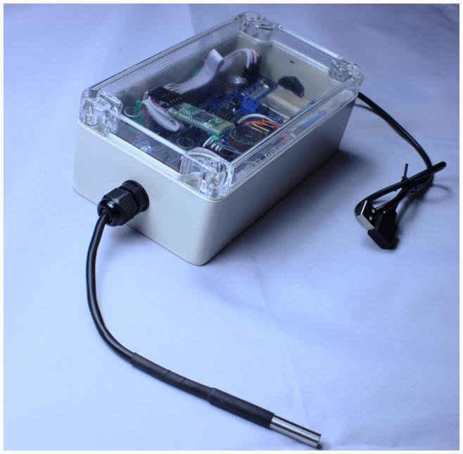 Arduino temperature logger wifi muse technologies