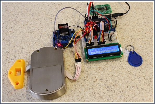 Home Automation Rfid Door Lock Access Control Kit