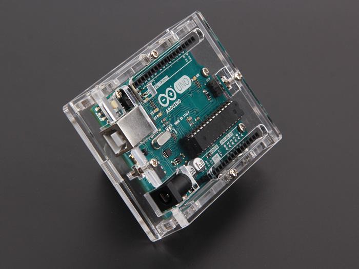 Arduino Clear Enclosure Hobbyist Co Nz
