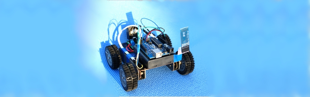 Arduino based android controlled robot