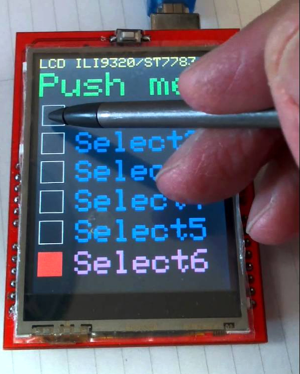 Touch screen Lcd for Arduino Uno & Mega 2 4 inch | Hobbyist