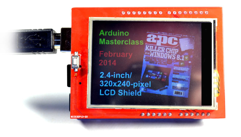 Touch screen Lcd for Arduino Uno & Mega 2 4 inch | Hobbyist co nz