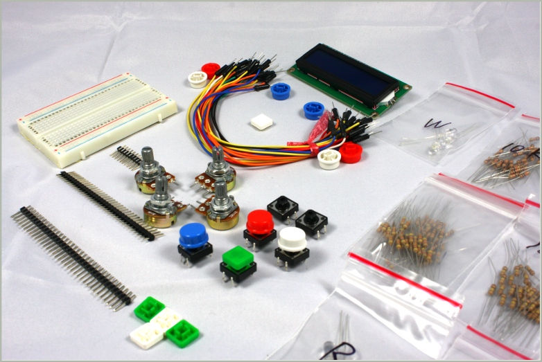 Arduino starter kit tutorials included hobbyist nz