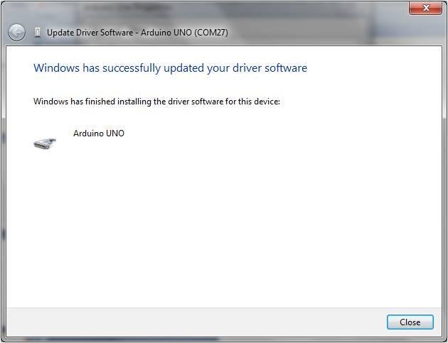 Arduino uno windows usb driver installation hobbyist nz