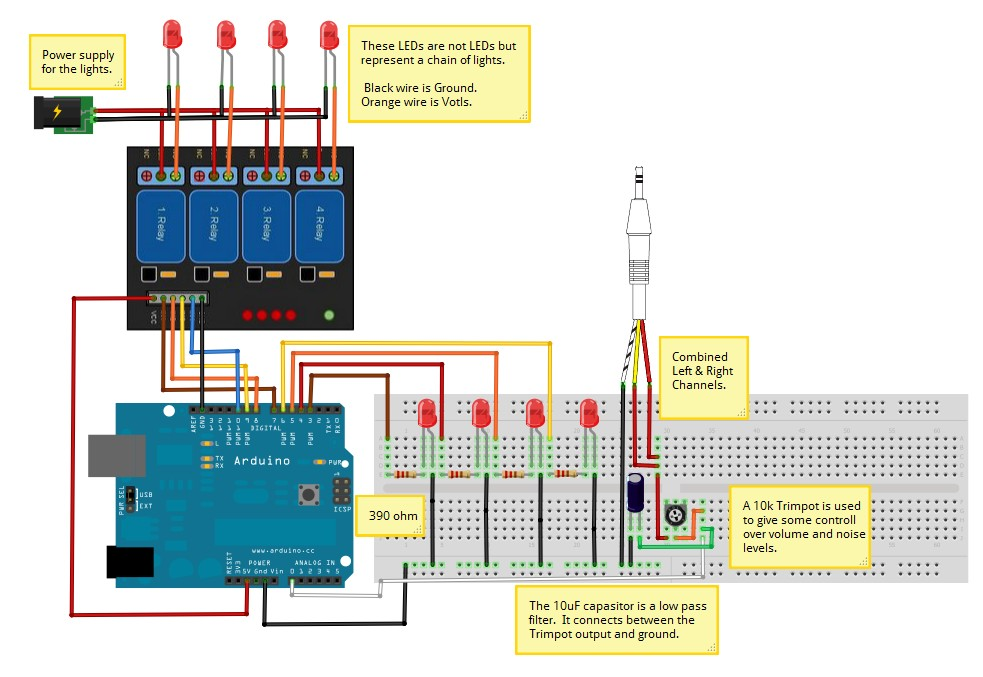 relay hobbyist co nz rh hobbyist co nz arduino 8 relay board wiring diagram 8 channel relay board arduino wiring