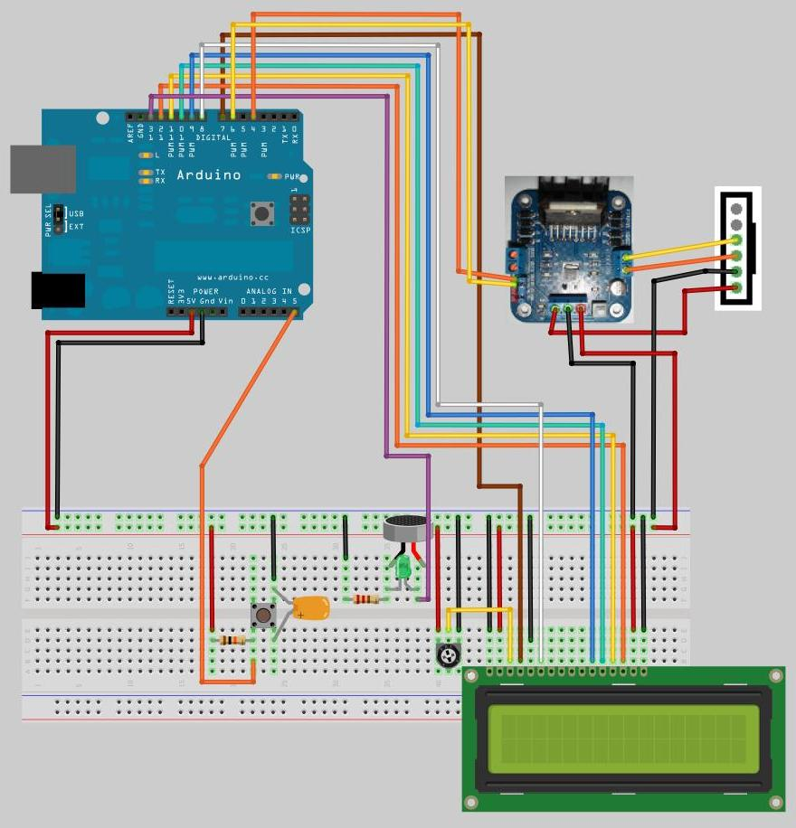 Step 2 Motorised Lock Control Stepper Motor Controller Circuit Diagram And Instructions Wiring Click To See Larger Image