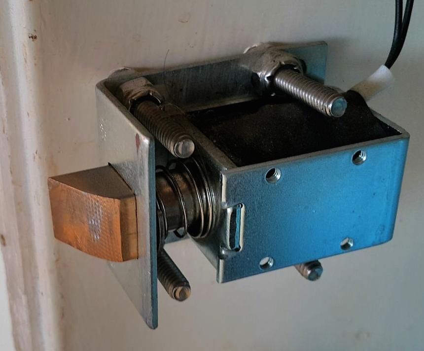 Electronic Solenoid Door Lock Hobbyist Co Nz