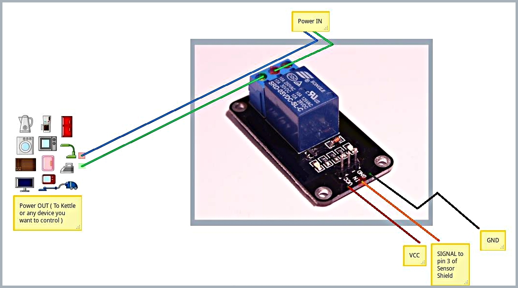 relay hobbyist co nz rh hobbyist co nz Arduino Relay Example arduino 4 relay shield wiring